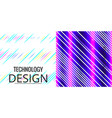 set of geometric pattern abstract background vector image vector image