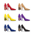 womens shoes vector image vector image