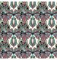 Seamless pattern Owl doodle cartoon vector image