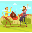 Barbecue Cartoon vector image