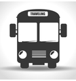 bus transportation design vector image vector image