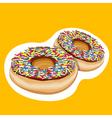 doughnuts vector image