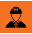 Electric engineer icon vector image