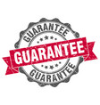 guarantee stamp sign seal vector image vector image