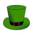 leprechaun hat image vector image