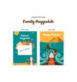 passover haggadah design template- haggadah book vector image vector image