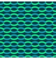 Wave geometric seamless pattern 2706 vector image vector image