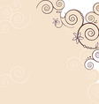 wedding background vector image vector image