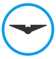 Aviation Rounded Icon vector image
