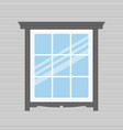 background with window vector image vector image