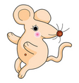 cute rat vector image vector image