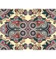 ethnic horizontal authentic decorative paisley vector image