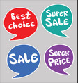 modern sale stickers colorful collection 0011 vector image