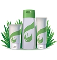 Natural cosmetics vector image vector image