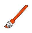 paint brush art vector image vector image