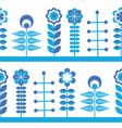 scandinavian style elements vector image vector image