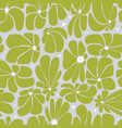 seamless floral pattern design with stylized