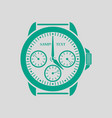 watches icon vector image