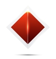 abstract backgroundRed and card vector image