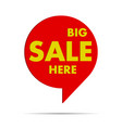 colorful pointer of sale vector image