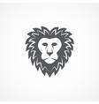 Wild lion head graphic vector image