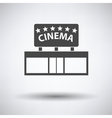 Cinema entrance icon vector image vector image