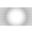 circle dots background abstract halftone vector image vector image
