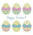 easter9 vector image vector image