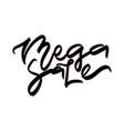 mega sale sale hand lettering design vector image