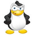 Penguin Mascot Hands On Hips vector image vector image
