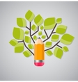 Tree of Knowledge Concept vector image