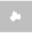 Maple Leaf computer symbol vector image