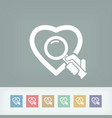 love search vector image