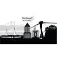 Portland vector image