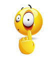 smiley with face expression smiley emoticon vector image vector image