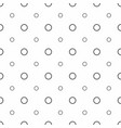 abstract seamless pattern grey circles modern vector image vector image