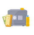capital banking keeping the money concept vector image vector image