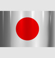 japan flag metallic texture abstract background vector image