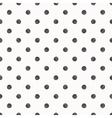 Polka dot seamless pattern background vector image vector image