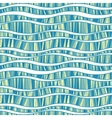 seamless pattern of wavy lines vector image vector image