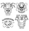 set emblems vector image vector image