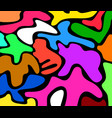 multicolored pattern vector image vector image
