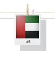 photo of united arab emirates uae flag vector image