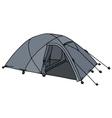 Present gray tent vector image