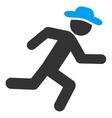 Running User Icon vector image