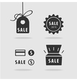 Set item sale vector image vector image