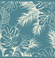 summer seamless tropical pattern with monstera vector image vector image
