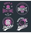 Basketball ball or sport game t-shirt design vector image