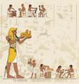 ancient egypt scene egypt banner