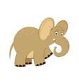 cute baelephant in cartoon style vector image